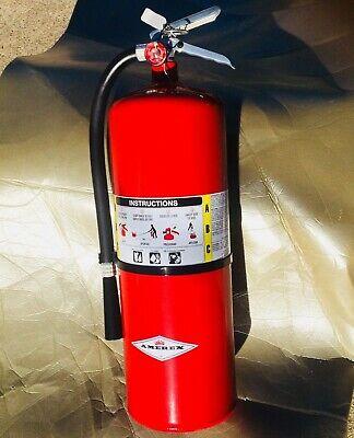 Amerex Abc Dry Chemical 20 Lb Aluminum Valve Industrial Fire Extinguisher A411