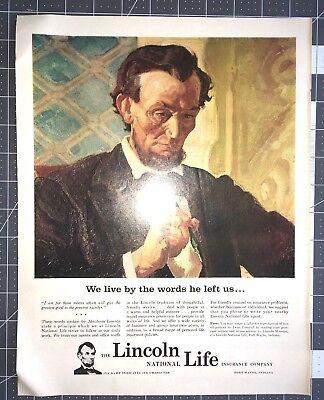 Life Magazine Ad The LINCOLN NATIONAL LIFE Insurance Company
