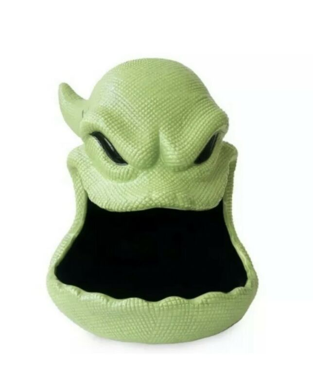 **IN HAND** The Nightmare Before Christmas Oogie Boogie Halloween Candy Dish