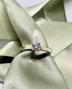 18ct Yellow Gold Diamond Ring Revesby Bankstown Area Preview