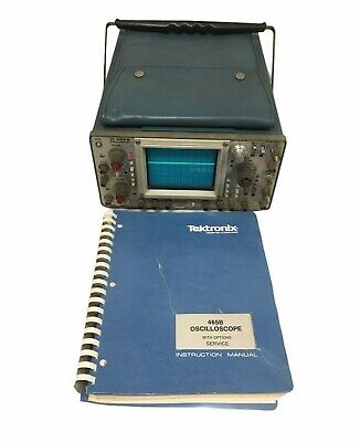 Tektronix 465b Oscilloscope Sweep Ok Ch2. Is Functional. For Parts 9029