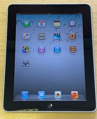 iPad 1st Gen - 16GB - Wi-Fi - 9.7in - Black