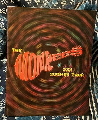 The Monkees - 2001 Summer Tour Guide