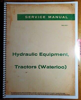 John Deere A B G 50 60 Ar-ao R H Hydraulic Powr-trol Service Manual Sm-2011 52