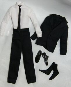 Ken Classic 1950's Style Formal Dark Navy Suit Fashion ~ Unboxed ~ Free U.S Ship