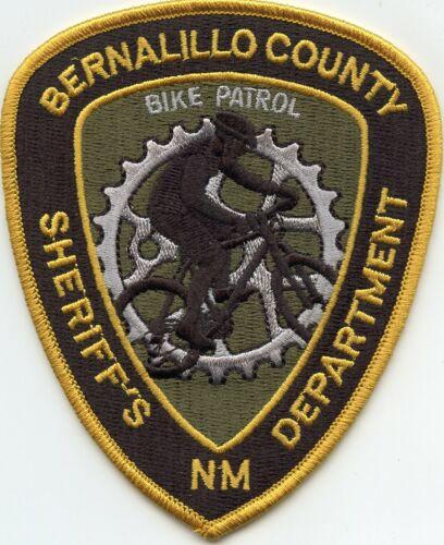 BERNALILLO COUNTY NEW MEXICO NM Bicycle BIKE PATROL SHERIFF POLICE PATCH