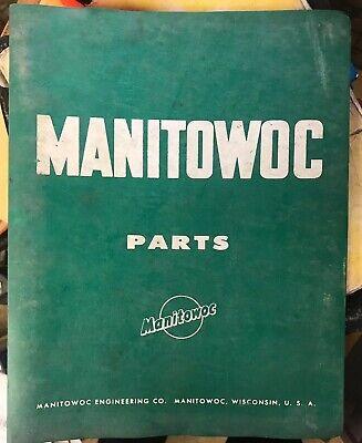 Manitowoc Engineering Model 3900 Crawler Crane Parts Catalog Manual Book