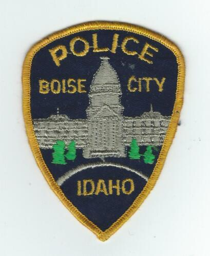 VINTAGE BOISE CITY, IDAHO POLICE (CHEESE CLOTH BACK) patch