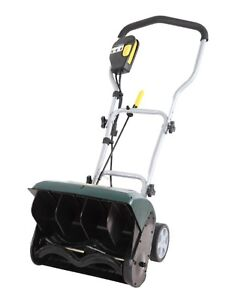 Yardworks 10A Electric Snowthrower, 16 inch