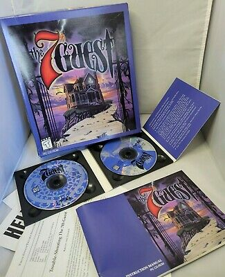 Vintage The 7th Guest mystery, horror PC CD-ROM big box game