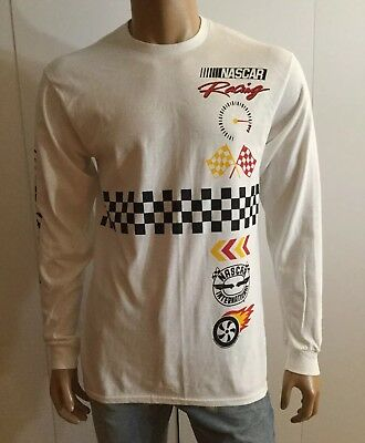 Junk Food Men's Long Sleeve T-Shirt NASCAR Racing Size M, used for sale  Beverly Hills