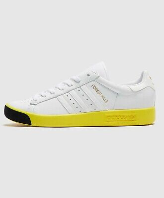 Forest Hills Trainers in White & Yellow 9 Adidas