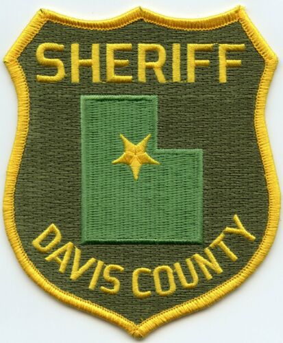 DAVIS COUNTY UTAH UT SHERIFF POLICE PATCH