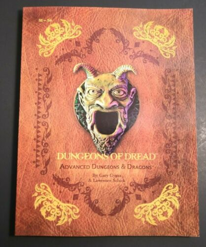 S1-4 Dungeons of Dread - Softcover Super Module - Dungeons & Dragons