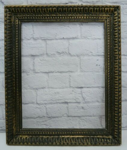 "Vintage Ornate Gilted Wood Picture Frame 14"" x 18"""