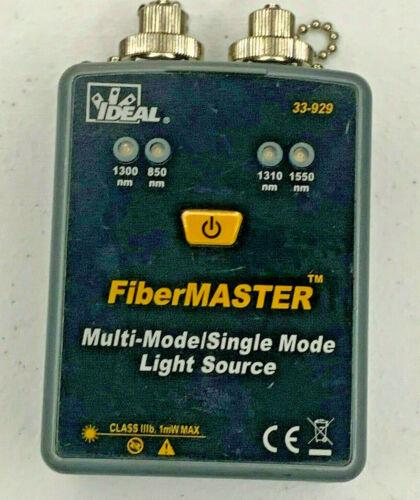 Ideal 33-929 Fiber Optic Quad SM MM Fiber Optic Light Source