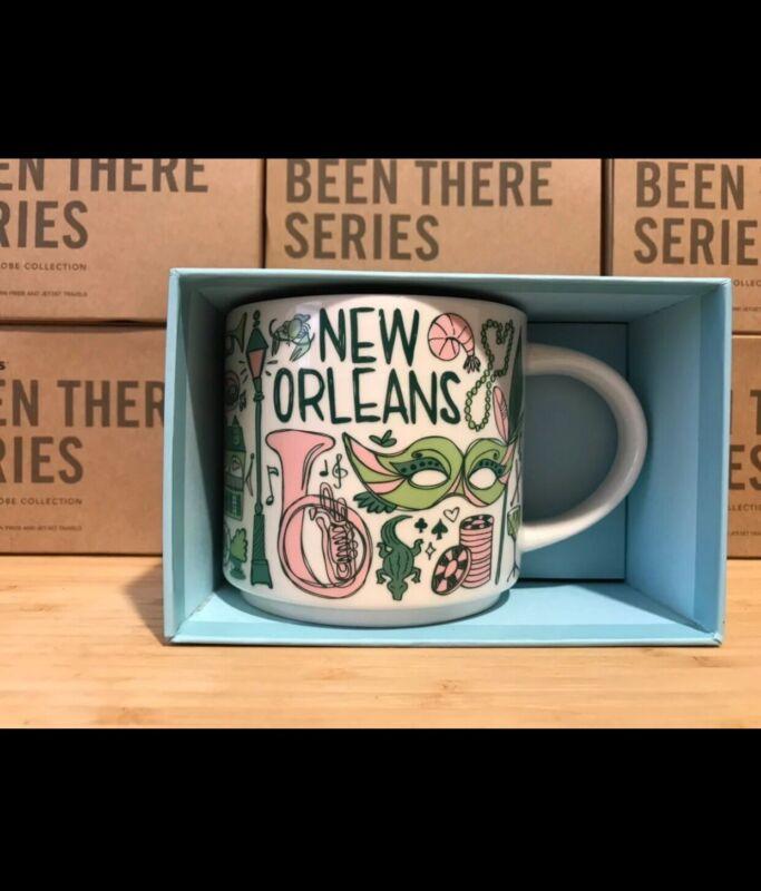 New Starbucks New Orleans 14oz Mug. WITH BOX. Shipped USPS