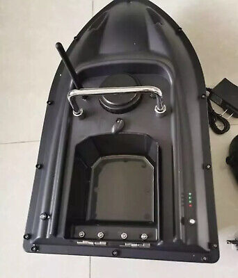 RC Fishing Bait Boat, 2 Motors, 500M Range Wireless Control. UK seller.