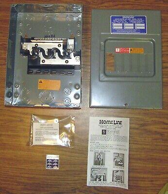 Square D Homeline Load Center 100 Amp 6 Space Hom6-12l100
