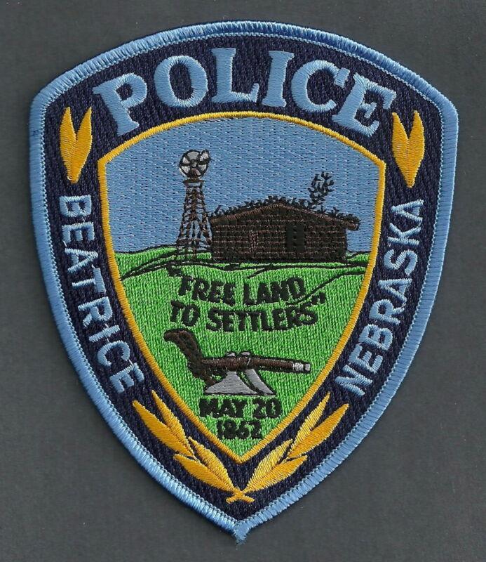 BEATRICE NEBRASKA POLICE SHOULDER PATCH