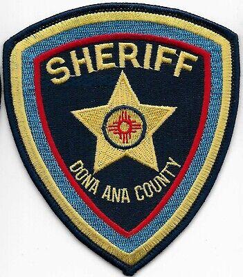 NEW MEXICO  Doña Ana County SHERIFF Police Patch Polizei Abzeichen WHITE SANDS