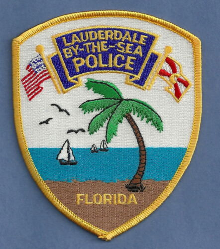 LAUDERDALE BY THE SEA FLORIDA POLICE SHOULDER PATCH