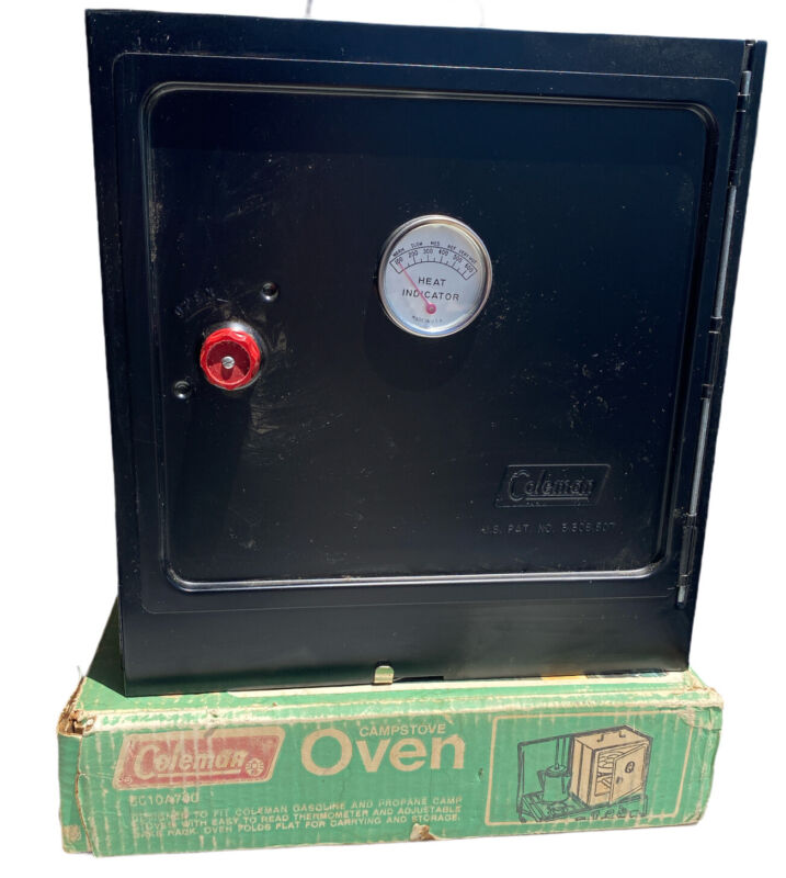 Vintage Coleman Camp Oven 5010A700 Unused 1970s