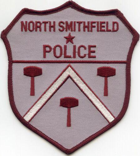 NORTH SMITHFIELD RHODE ISLAND RI POLICE PATCH