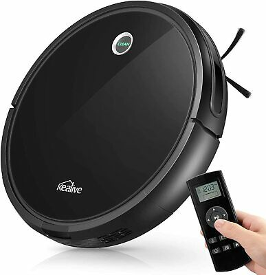 Kealive Robotic Vacuum Cleaner, 1400PA Super Suction Self Charging 1400PA