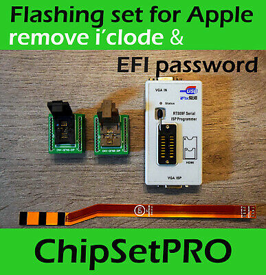 Apple Macbook Unlock Service Jtag Sam Efi Rom Rubber Cable Professional Tool Set