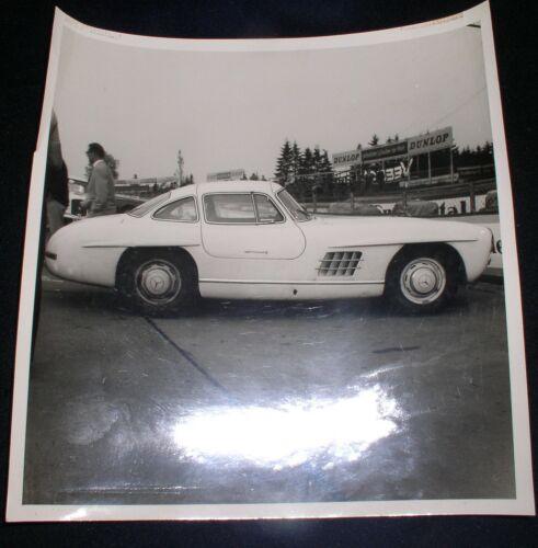 "1960s Lot of 7 original Nurburgring  Car Racing Photos~Mercedes/Porsche~8""x 8"""