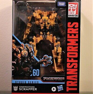 Transformers Studio Series 60 Constructicon SCRAPPER Voyager Class MISB/New 2020