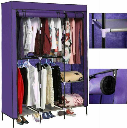 Large Capacity Wardrobe Closet for Hanging Clothes Portable Closet Organizer 1