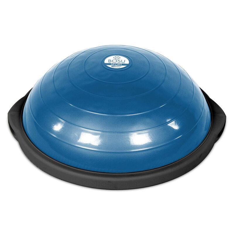 Bosu 50-Centimeter Non-Slip Home Gym Workout Balance Trainer, Blue (Open Box)