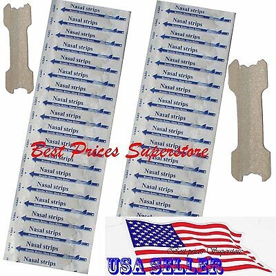 5 1000 Nasal Strips  Small Med Large  Breathe Better   Reduce Snoring Right Now