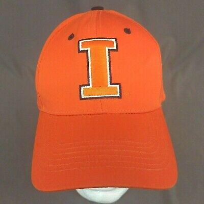 Illinois Fighting Illini StrapBack Hat Orange Baseball Cap Captivating Headgear