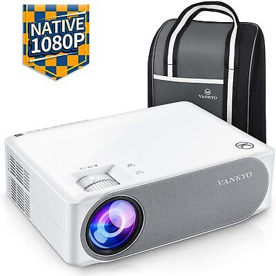 "VANKYO Performance V630 Native 1080P Full HD Projector, 300"" LED Projector New!!"