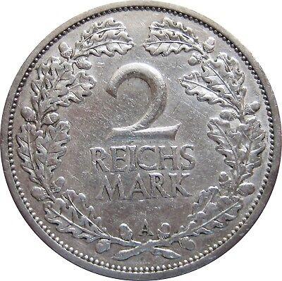 J320  2 Mark Weimar von 1926 A in SS   682 010