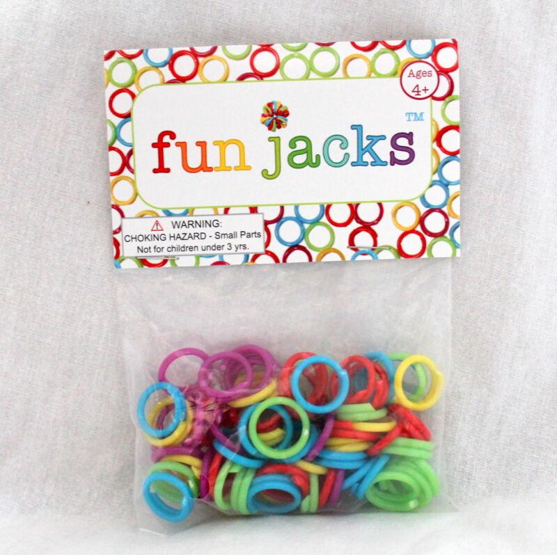 Fun Jacks - Chinese Jacks, Rainbow Craft Split Rings and More!