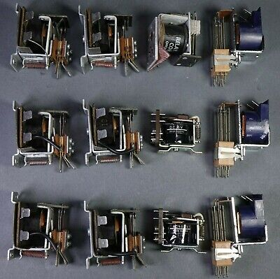 Power Relay Misc. Lot Of 12 Pieces Electrical Controls - Most New