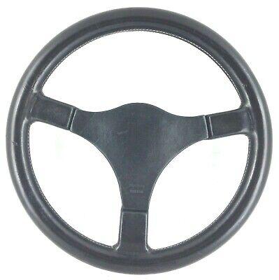 Usado, Genuine Momo Mystere 3 spoke 360mm black leather steering wheel.  Classic.  7C segunda mano  Embacar hacia Spain