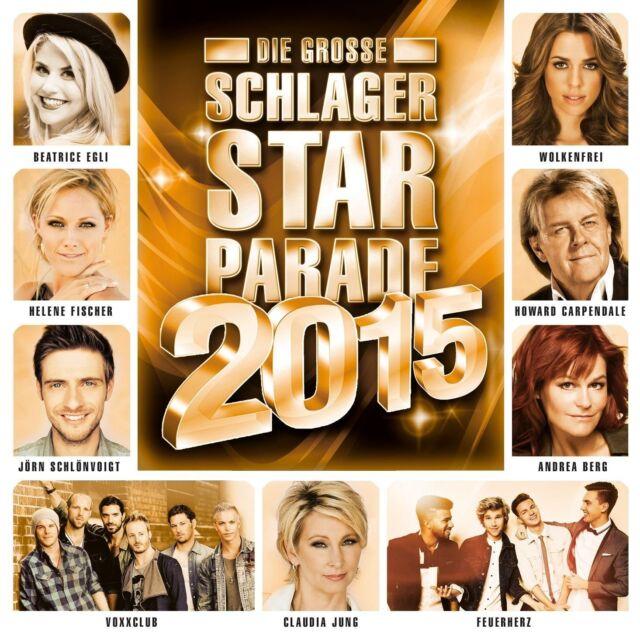 DIE GROßE SCHLAGER STARPARADE2015,FOLGE2 CD NEU JÜRGEN DREWS/ANDERA BERG
