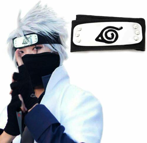 Atenia Naruto Cosplay Headband, Naruto Costume Leaf Village Ninja Headband