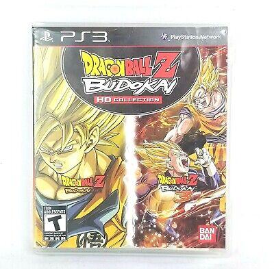 Dragon Ball Z: Budokai HD Collection - Sony PlayStation 3 - PS3, Disc, Case +