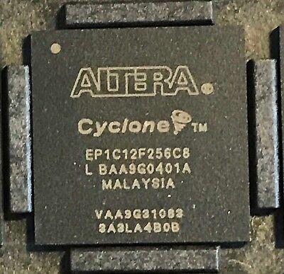 Ic Ep1c12f256c8 Cyclone Fpga 256fbga 256-pin Fbga Altera 1c12f256c8