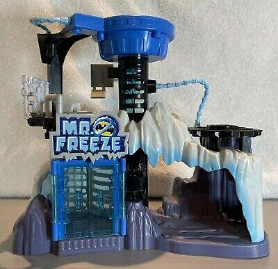 Mattel Batman Villain Mr. Freeze Lair Headquarters Arctic Fortress - Free Ship