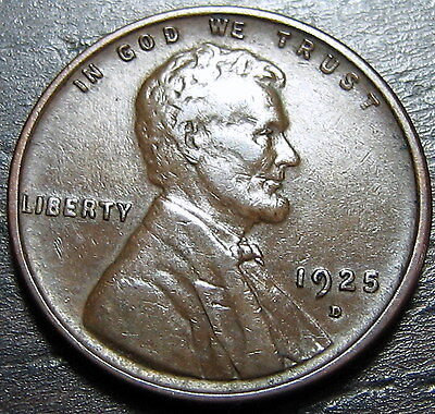 1925 D LINCOLN CENT WHEAT CENT  --  MAKE US AN OFFER  T1386