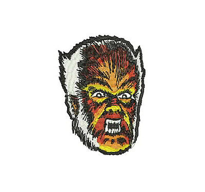 The Wolfman Iron-On PATCH Horror Universal Monster Monsters Werewolf Full Moon (Wolfman Halloween Decorations)