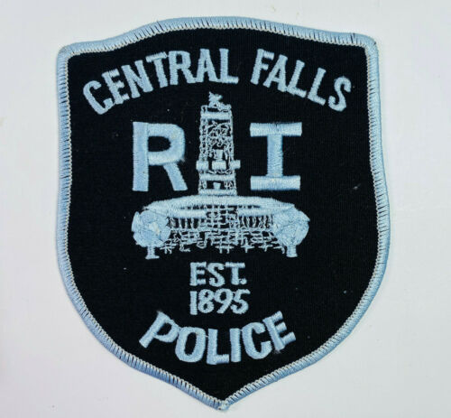 Central Falls Police Providence County Rhode Island Patch (A1)