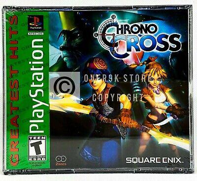 Chrono Cross - PS1 - Brand New | Factory Sealed comprar usado  Enviando para Brazil